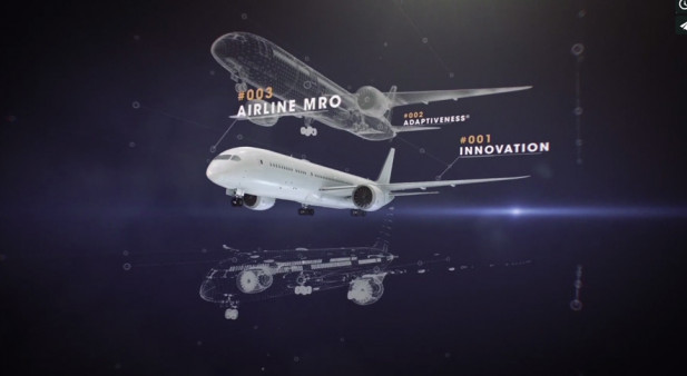 4065987df6a0cb At the 52nd International Paris Air Show at Le Bourget, Air France  Industries KLM Engineering   Maintenance presents several exclusive  innovations from the ...